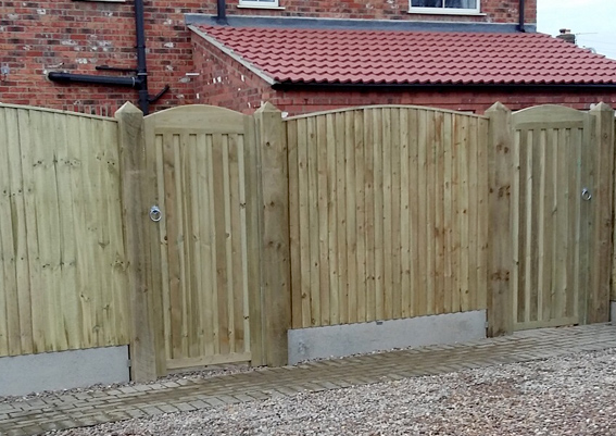 Fencing in Grantham